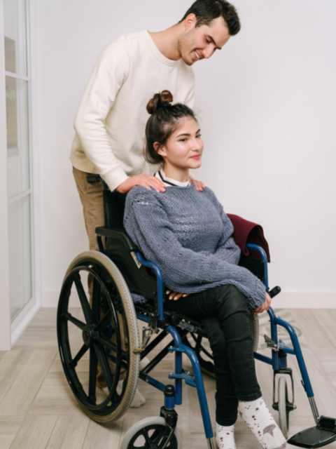 Manutention des personnes à mobilité réduite